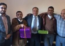 """اشتوكة: المكتب الوطني للكهرباء يكرم """"مصطفى وديد"""" بعد 30 سنة من العطاء"""