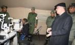 مشفى عسكري يقدم خدماته لضحايا البرد بتنغير