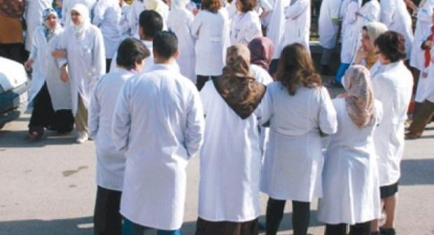 الممرضين  محيحين اليوم الجمعة تضامنا مع الفرملية المدانة بثلاثة أشهر