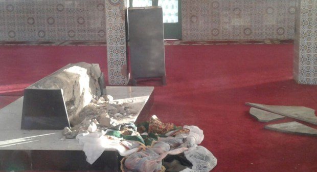 تافراوت: ضريح سيدي عيسى يتعرض للتخريب