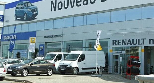 صوديسما ورونو داسيا في أكبر معرض جهوي للسيارات  بأكادير  يوم غذ