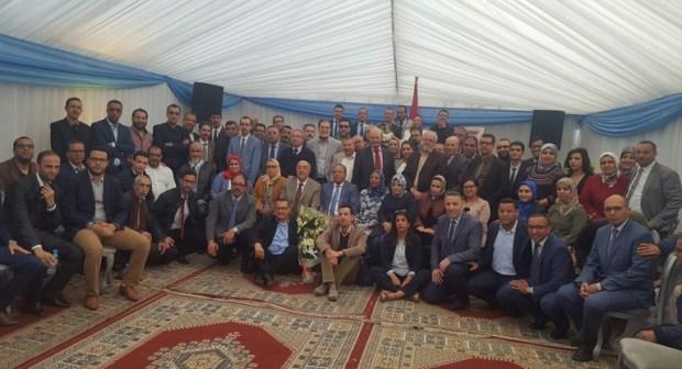 حفل كبير في وداع المدير الجهوي للضرائب بأكادير