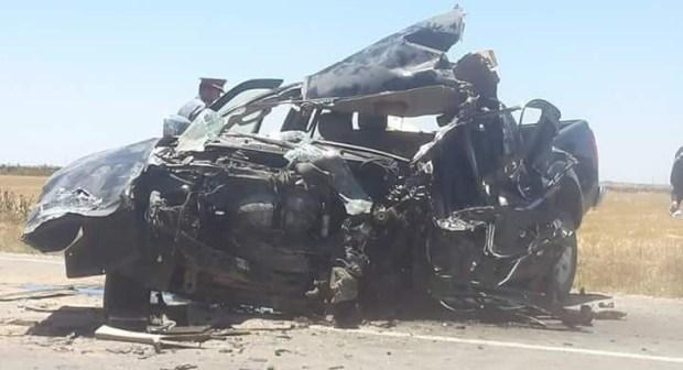 رئيس جماعة النخيلة بإقليم سطات يلقة مصرعة في حادثة سير