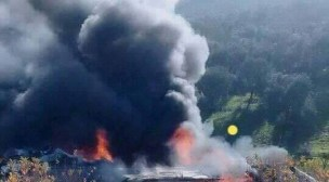 بالصور والفيديو: سقوط طائرة حربية بتاونات