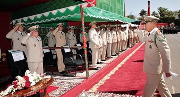 أكادير : تنظيم حفل عسكري تخليدا لذكرى تأسيس الجيش المغربي