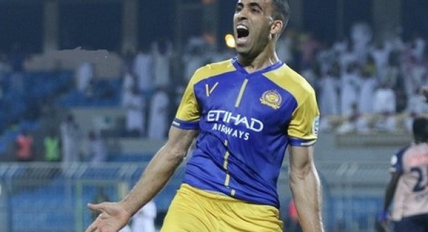 المهاجم المغربي عبد الرزاق حمد الله يواصل تألقه وكسر الأرقام في الدوري السعودي