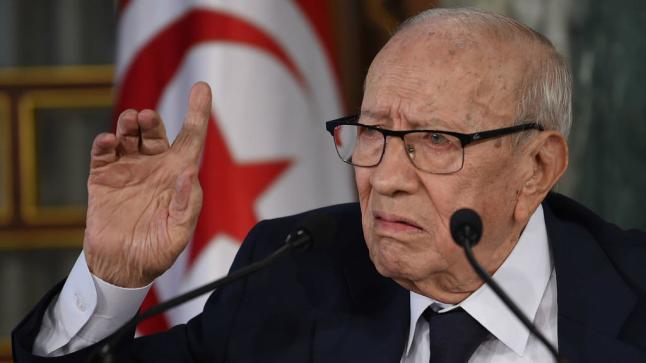 عاجل… وفاة الرئيس التونسي الباجي قايد السبسي