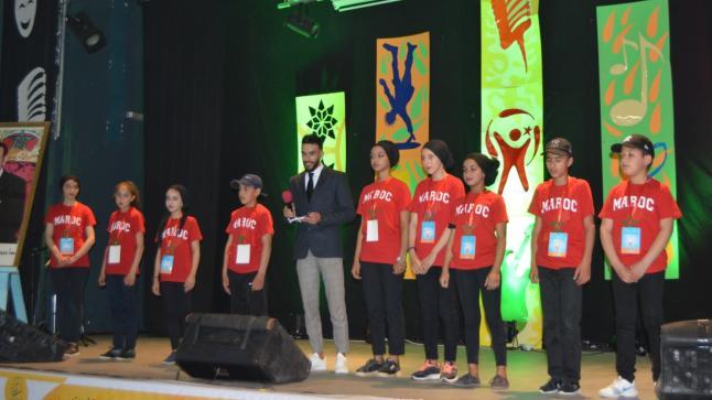 تلاميذ المدرسة العمومية يتألقون في اختتام الملتقى الإقليمي للطفولة المبدعة بإنزكان
