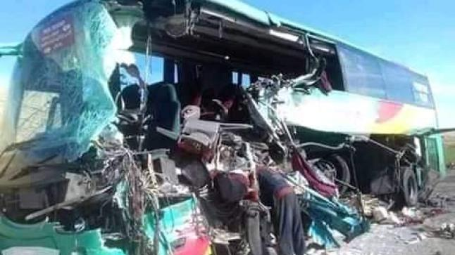 """بالفيديو: حادثة """" طابوكا"""" المؤلمة بين أكادير والصويرة"""