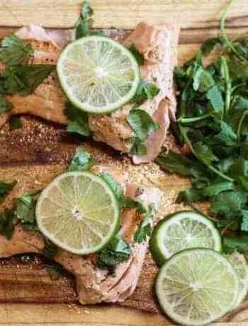 sous vide cilantro lime salmon