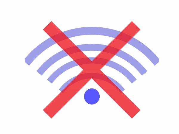 ネットが接続不良