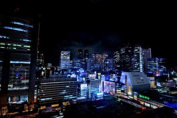 urban landscape Tokyo