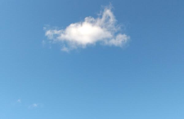 blue sky 青空