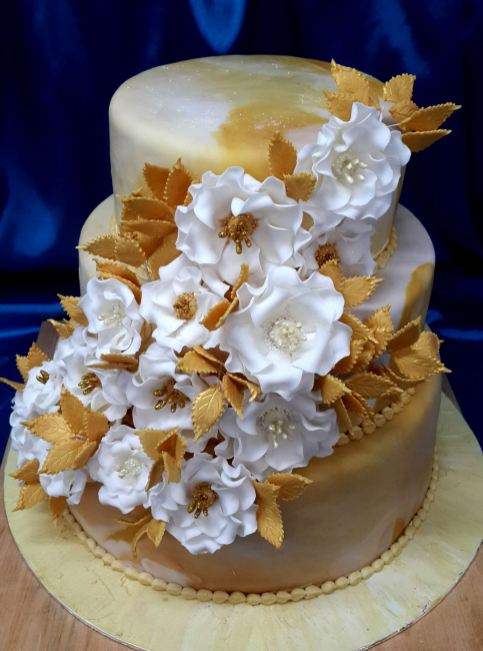 Wedding White and Gold