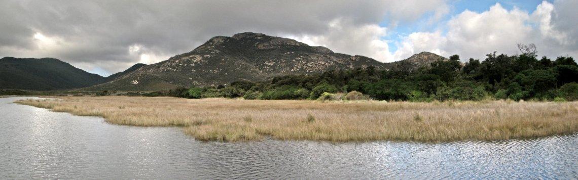 beautiful tidal river wilsons-prom-panorama