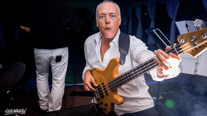 Wedding bass player