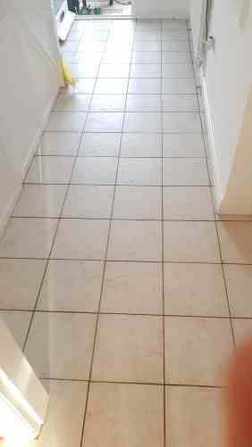 Textured Ceramic Tile Barnsley After Cleaning