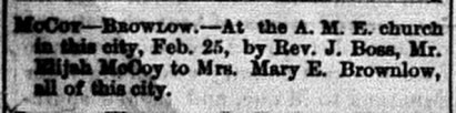 March 1, 1873. Commercial.