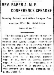 June 6, 1916. Daily Press.