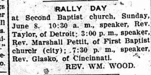 7 June, 1912. Daily Press.