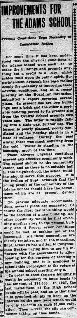 June 13, 1918. Ypsilantian.