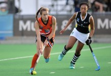 University of Johannesburg hockey star Kristen Paton ticked off another item on her bucket list when she was chosen for the South African women's squad to compete in the Commonwealth Games in Australia in April. Photo: Saspa