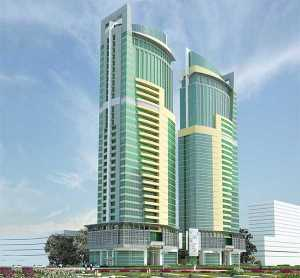 PSPF Commercial Twin Towers - Dar es Salaam (153m)