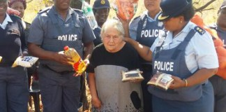 Victims of farm attack assisted in SAPS operation. Photo: SAPS