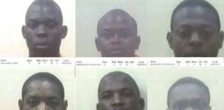 6 escape from lawful custody, Makhado. Photo: SAPS