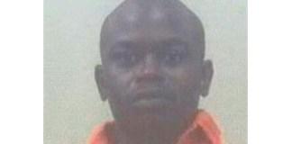 Last of the seven escapees still on the run, Louis Trichardt. Photo: SAPS