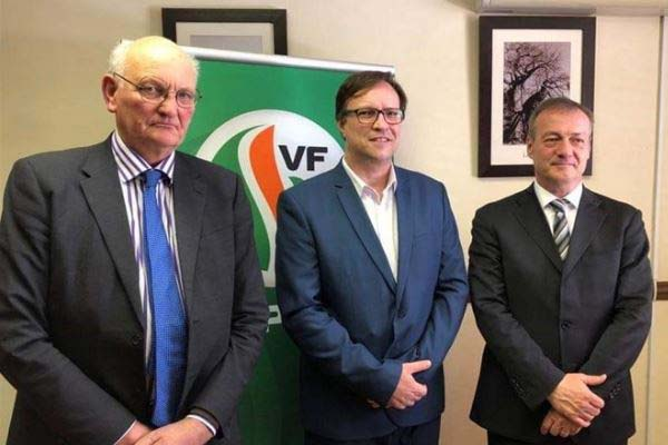 Desperate situation in SA: Members of European Parliament meet with FF Plus . Photo: FF Plus