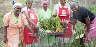 Food garden provides sustenance and jobs in rural community