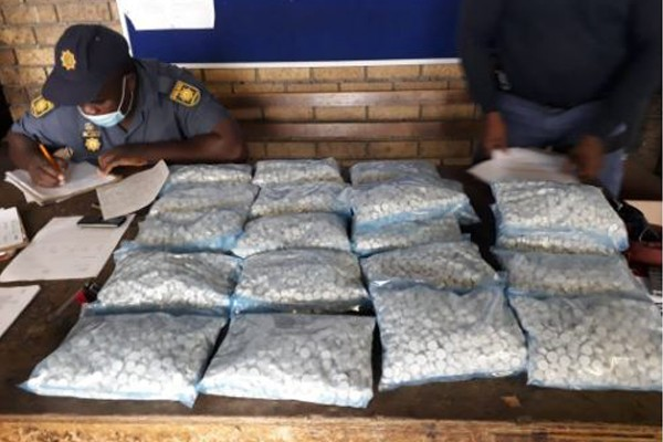 R600k worth of mandrax recovered at vehicle check point, Delft, CT. Photo: SAPS