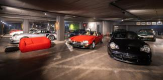 A brand-new viewing space for classic and collectables automobiles - Zebra Square Gallery showcases new space in Hyde Park Corner
