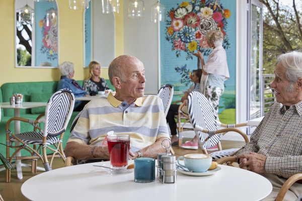 SS Cafe Auria Social