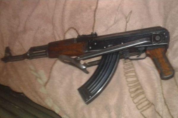 Stilfontein illegal mining, 9 arrested, 2 rifles recovered. Photo: SAPS