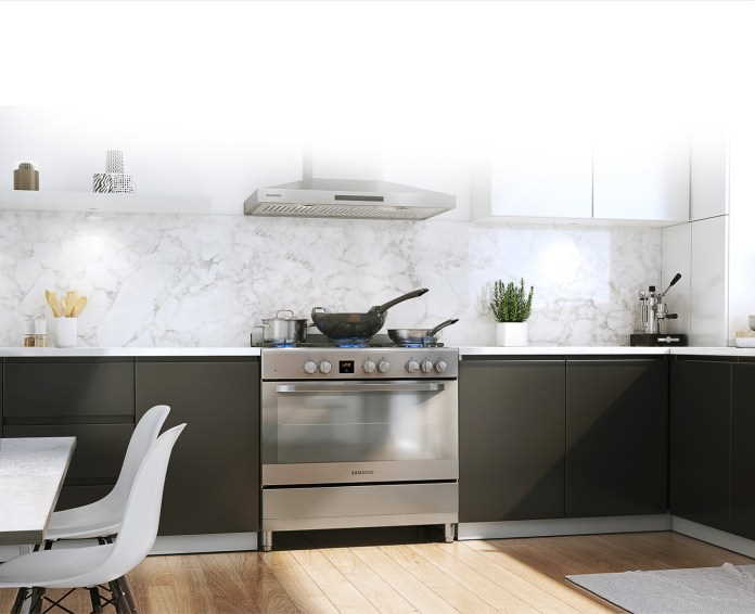 Samsung's new 5 Gas Burner Stainless Steel Cooker introduces timeous innovation and design