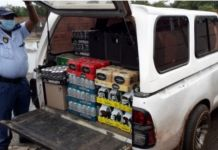 Two arrested for transporting liquor, Potchefstroom. Photo: SAPS