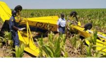 Pilot found deceased after crop spraying aeroplane crashes, Bultfontein. Photo: SAPS