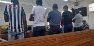 6 Murder and armed robbery suspects appear in court, Springbok. Photo: SAPS