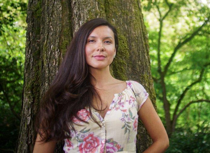 Melina Laboucan-Massimo. Photo credit: Sacred Earth Solar