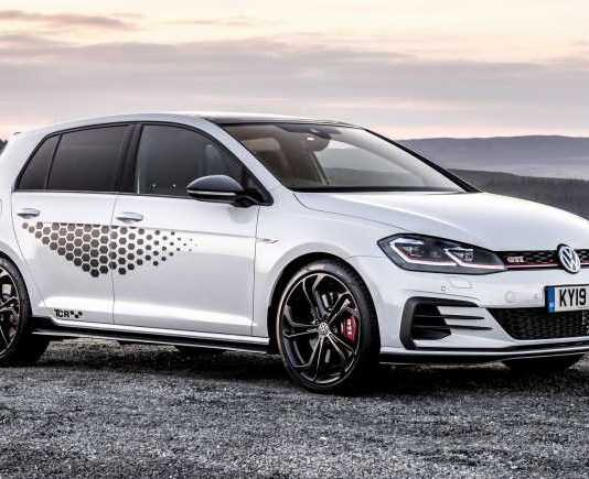 Golf GTi TCR. VW's swansong of this current generation of Mk 7 GTi