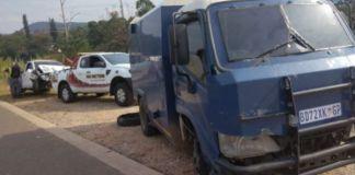 CIT heist on Nelspruit, Barberton road, 2 guards injured, 1 suspect tracked down. Photo: SAPS