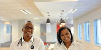 Dr Vuyane Mhlomi, Quro Medical's Co-Founder and CEO and Ms Zikho Pali, Quro Medical's Co-Founder and COO