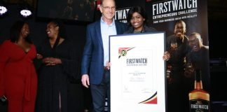 The previous winner and co-founder of Precious & Pearl Brands, Mpho Mohaswa