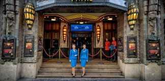 KLM unveils miniature house no. 102: Tuschinski Theatre in Amsterdam