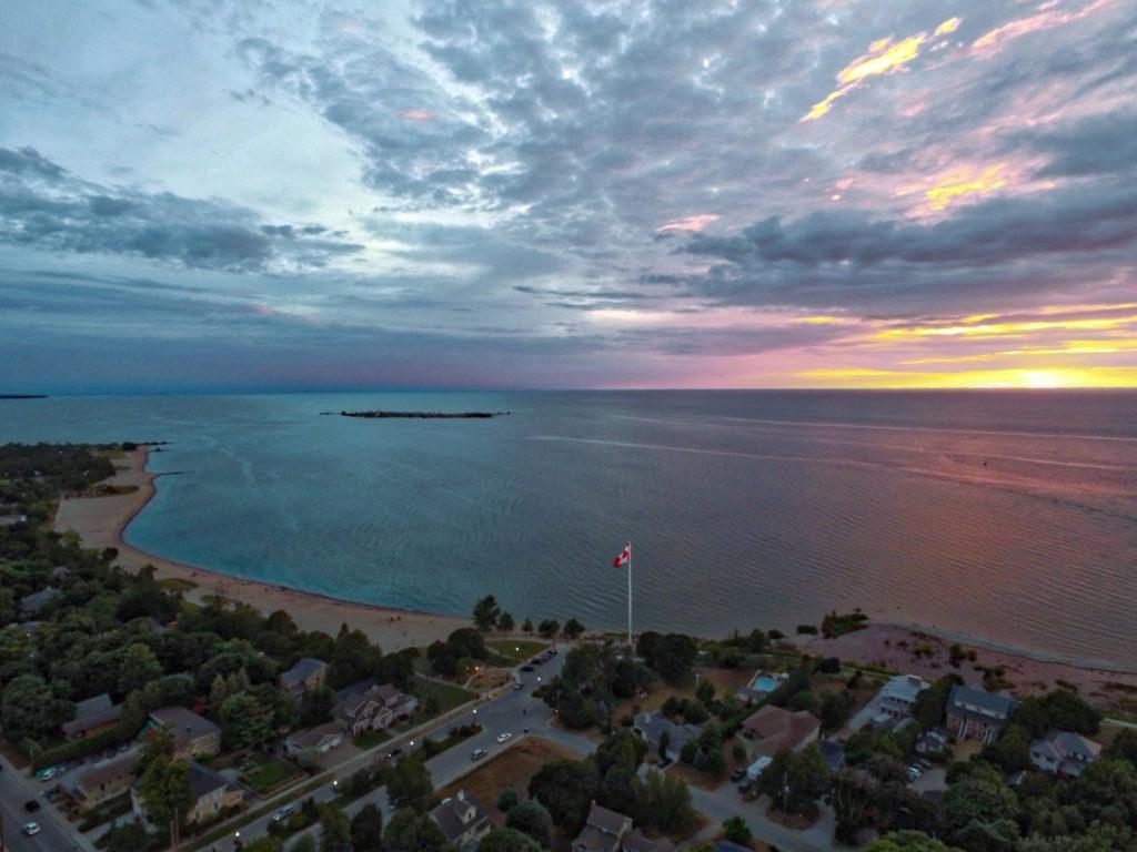 Real Estate Listings Southampton On Aerial