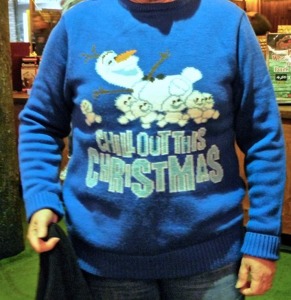 Chill Out Christmas jumper night out at the Southampton Christmas Market © Southampton Old Lady