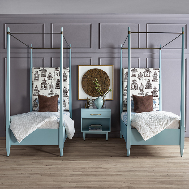 helena 4 poster bed twin size south