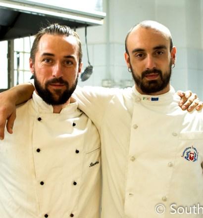 Antica Osteria chefs